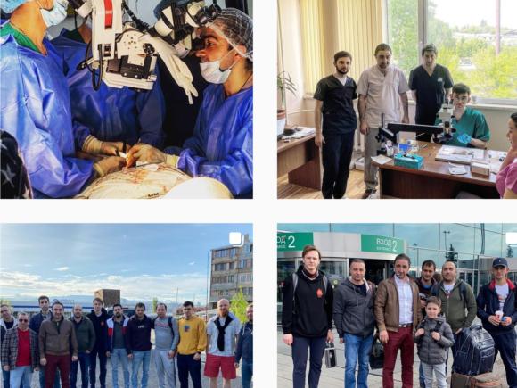 Микрохирургия без границ — поездка наших докторов в Армению